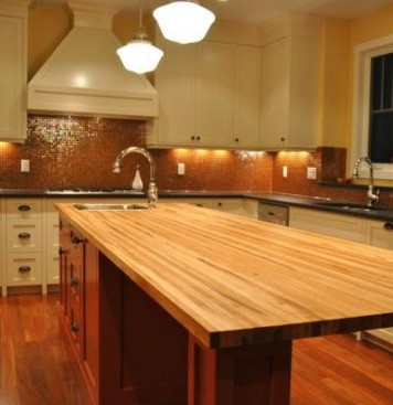 practical dining space in the kitchen