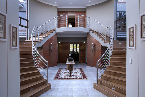 A stunning entrance hall