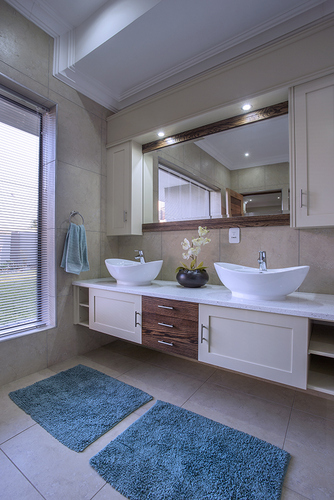 A stunning bathroom In Zambezi Country Estate