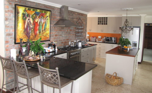 Kitchen interior designs create a warm cozy hub for the for Do it yourself home improvement projects