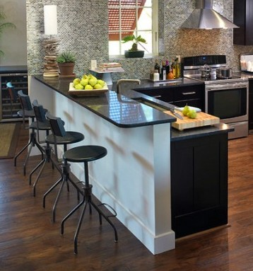 Kitchen Bar Designs | A smart dining area to give your ...