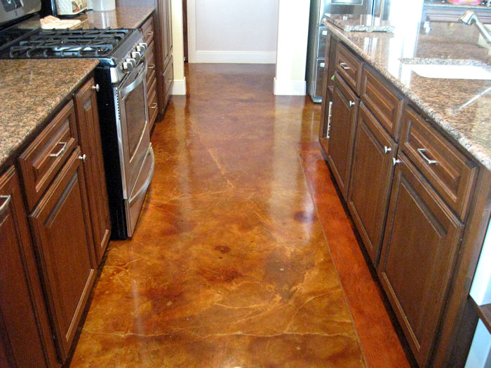 Kitchen floor design how to choose the right look for for Practical flooring ideas
