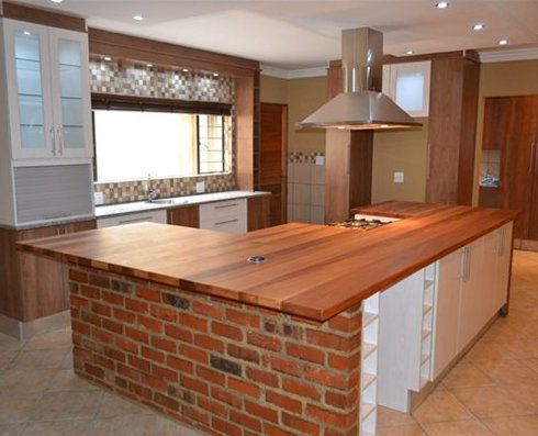 Genial Kitchen Island With Wooden Top